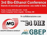 3rd Bio-Ethanol Conference